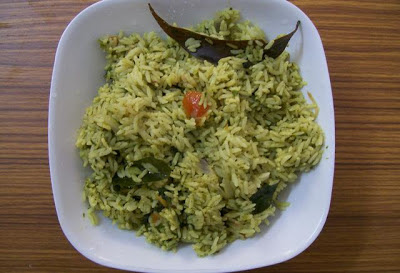 How to prepare tasty Palak Rice