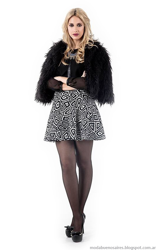 Tapados de fiesta 2014. Abrigos de moda otoño invierno 2014 Activity colección.