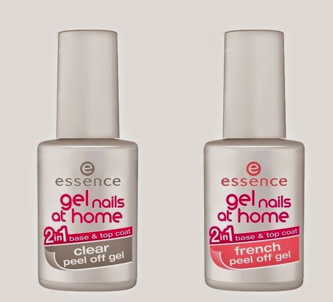 Gel Nails at Home 2in1 Clear Peel Off Gel Base Top Coat Gel Nails at Home 2in1 Clear