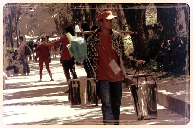 taho vendor in Baguio