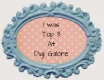 I Made Top 3 at Digi Galore - March 2014