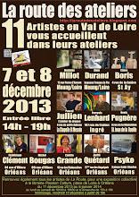 18ème Route des Ateliers. 7 et 8 décembre 2014.