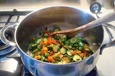 Risotto alle verdure 15
