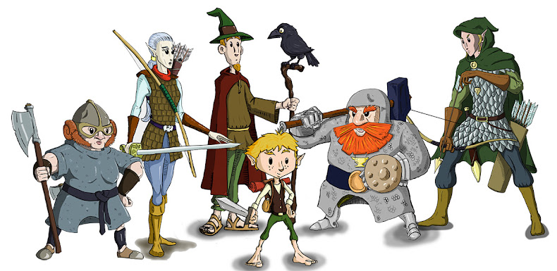 Meet the adventurers.