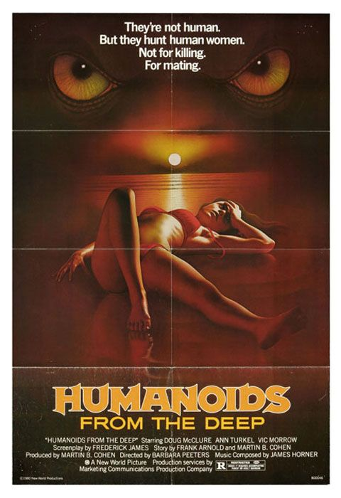 Movie Review Humanoids From The Deep 1980