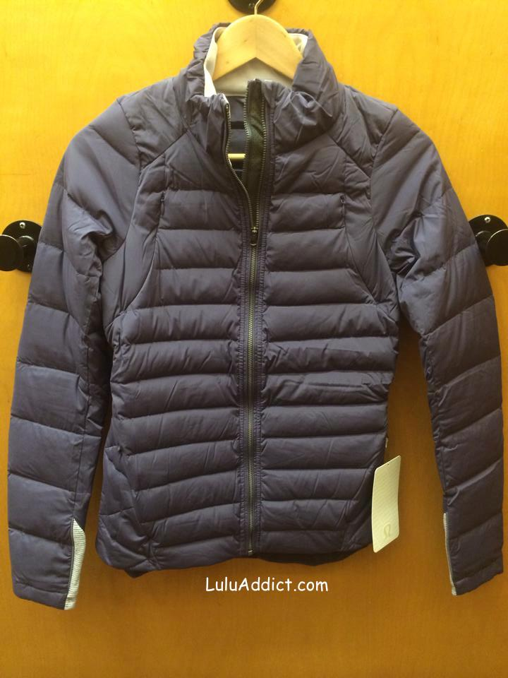 lululemon fluffed up jacket nightfall