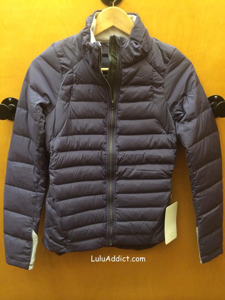 lululemon fluffed up jacket nightfall