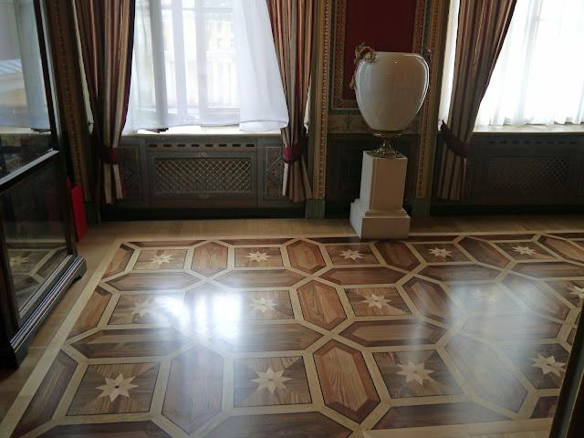 Parquet Inlays - Yusupov Palace, Sankt Petersburg, Russia