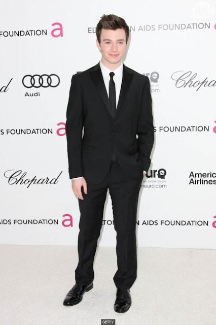 Look Chris Colfer Oscar 2012