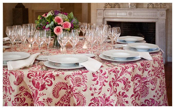 Valisse una mesa bien vestida - Manteles mesas grandes ...