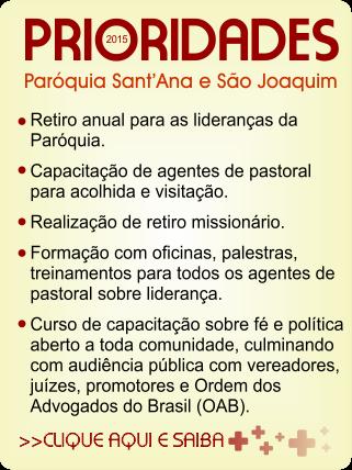ASSEMBLEIA PAROQUIAL DE PASTORAL