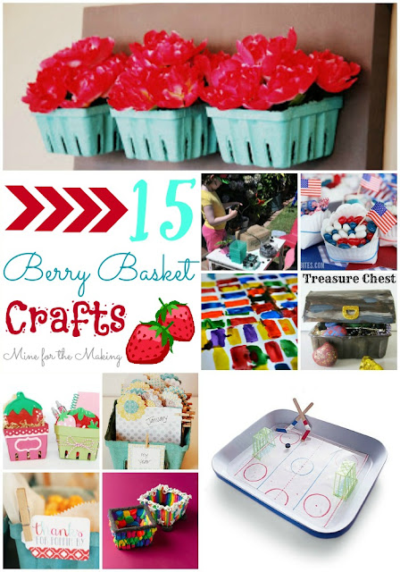 Round up of berry basket crafts
