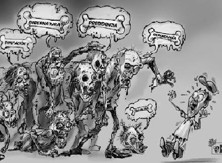 No hayarás aquí estos zombis: