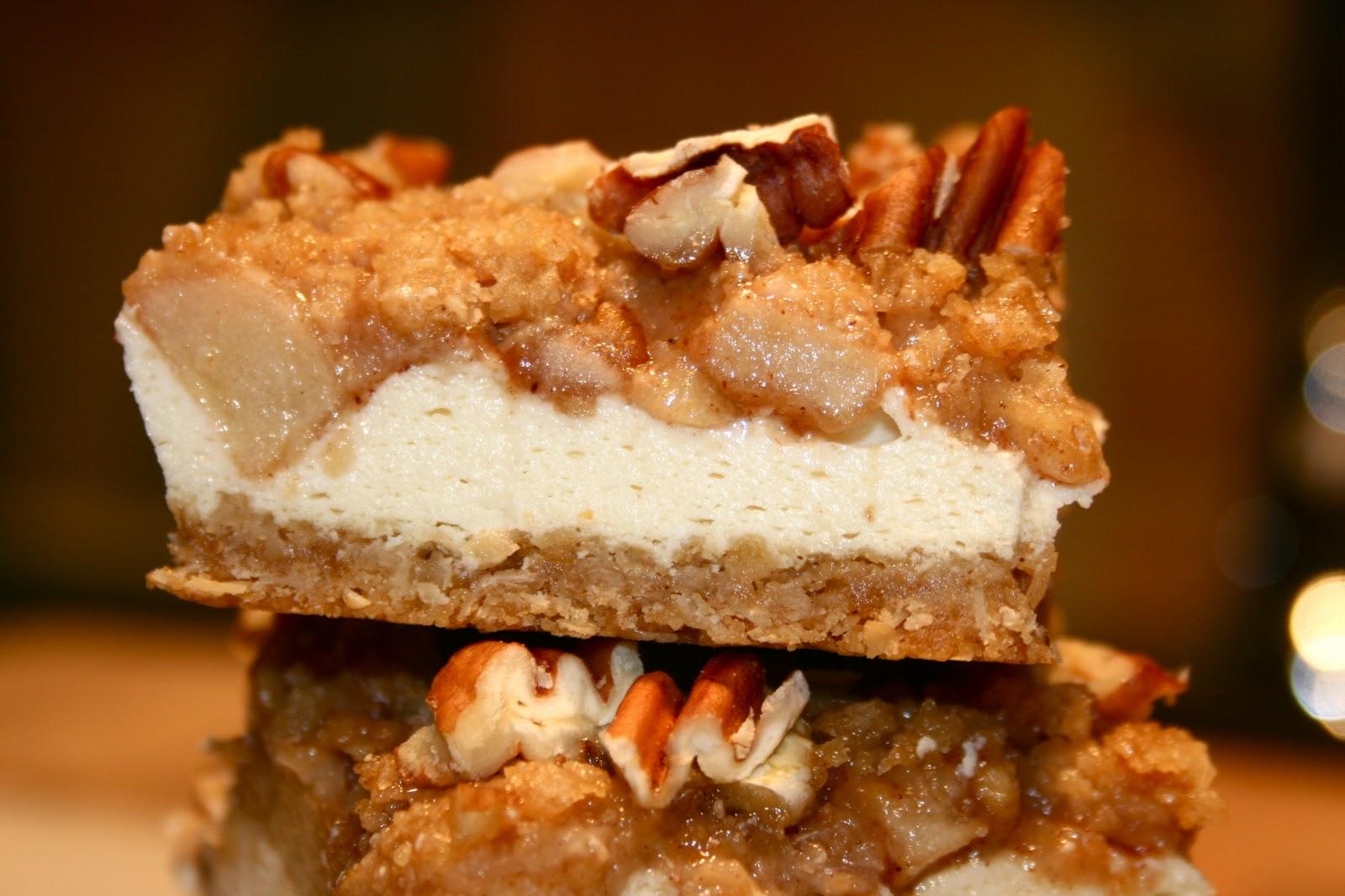 sugar & spice: Caramel Apple Cheesecake Bars