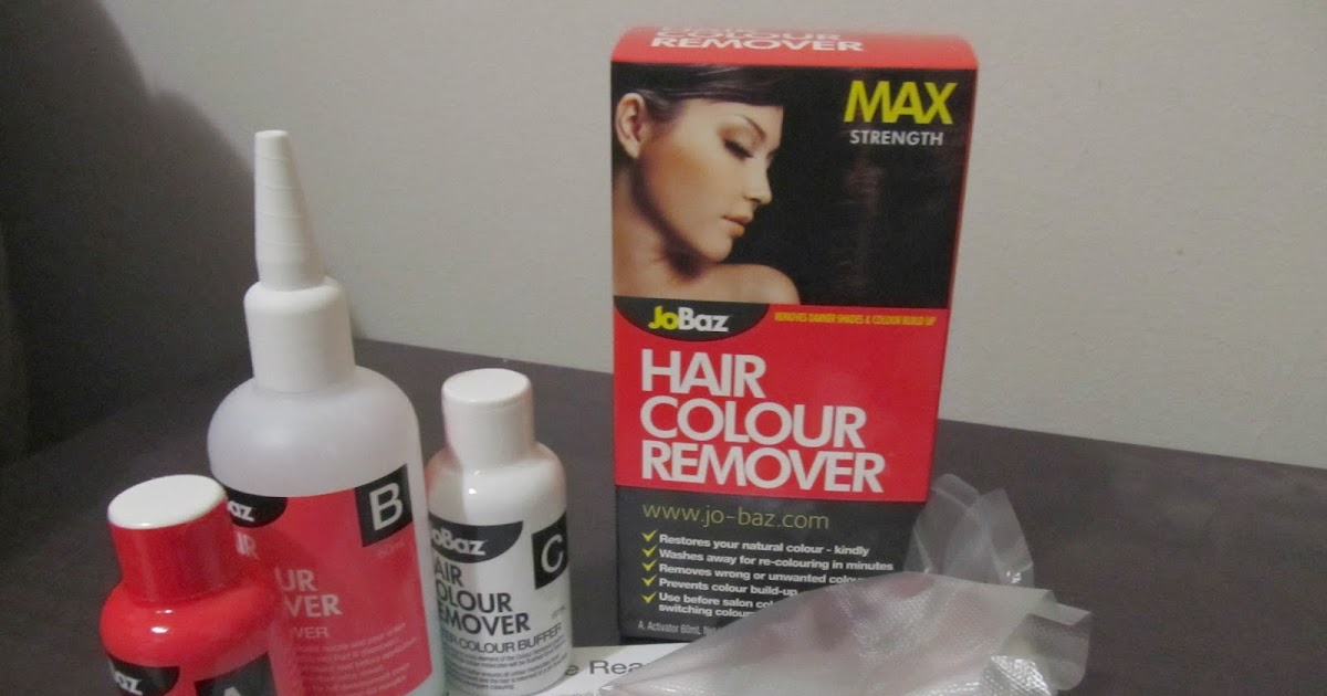 Jobaz Max Strength Hair Colour Remover Review Chontelle Louise