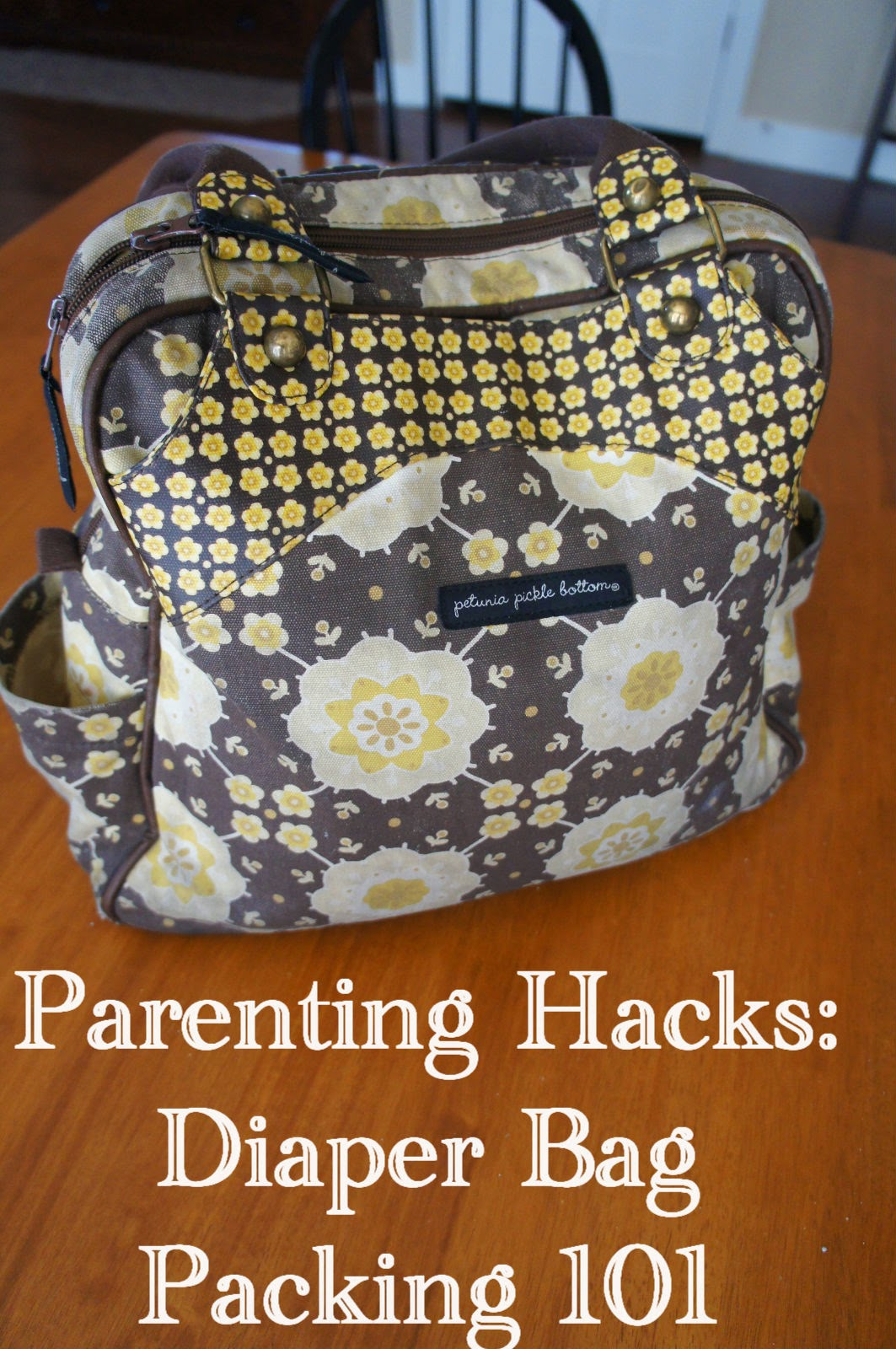 c g mr b family friends fun parenting hacks diaper bag packing 101. Black Bedroom Furniture Sets. Home Design Ideas