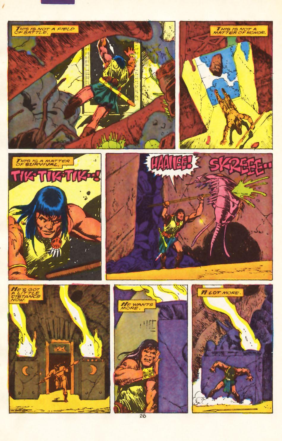 Conan the Barbarian (1970) Issue #212 #224 - English 20