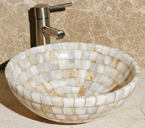 Because Of The Natural Unique Stone The Color Of Each Sink Is Slightly  Different, And Sinks Are A Round 16.5u201d X 6u201d. Just Because Each Sink Is  Different, ...