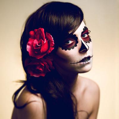 2022/09 Corazón de Bruja Octubre 2022 Sugar+skull+makeup+2