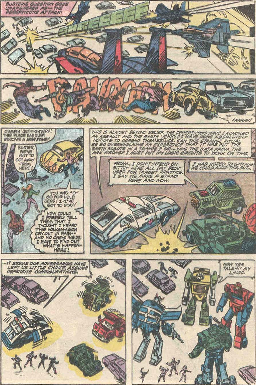 The Transformers (1984) #1 #80 - English 22