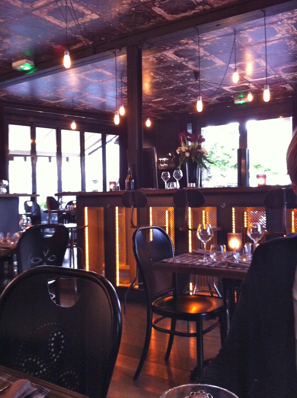 Ephemere en balade deauville j 39 ai d couvert un for Restaurant le garage deauville