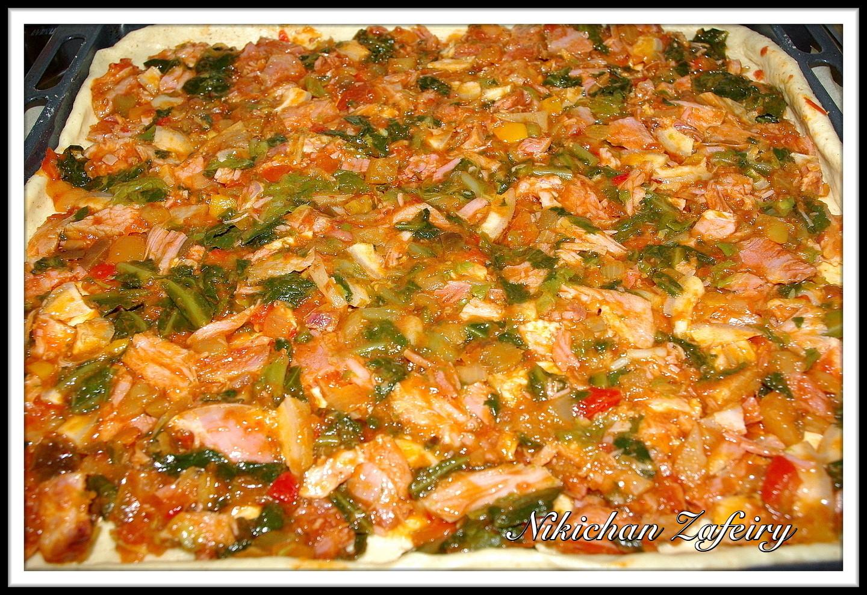 empanada gallega de lac n con grelos recetas de una