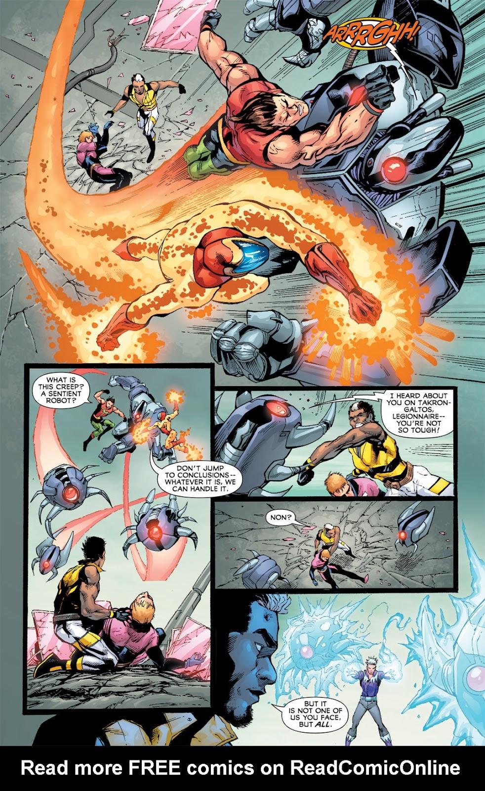 Legion of Super-Heroes (2010) Issue #13 #14 - English 19