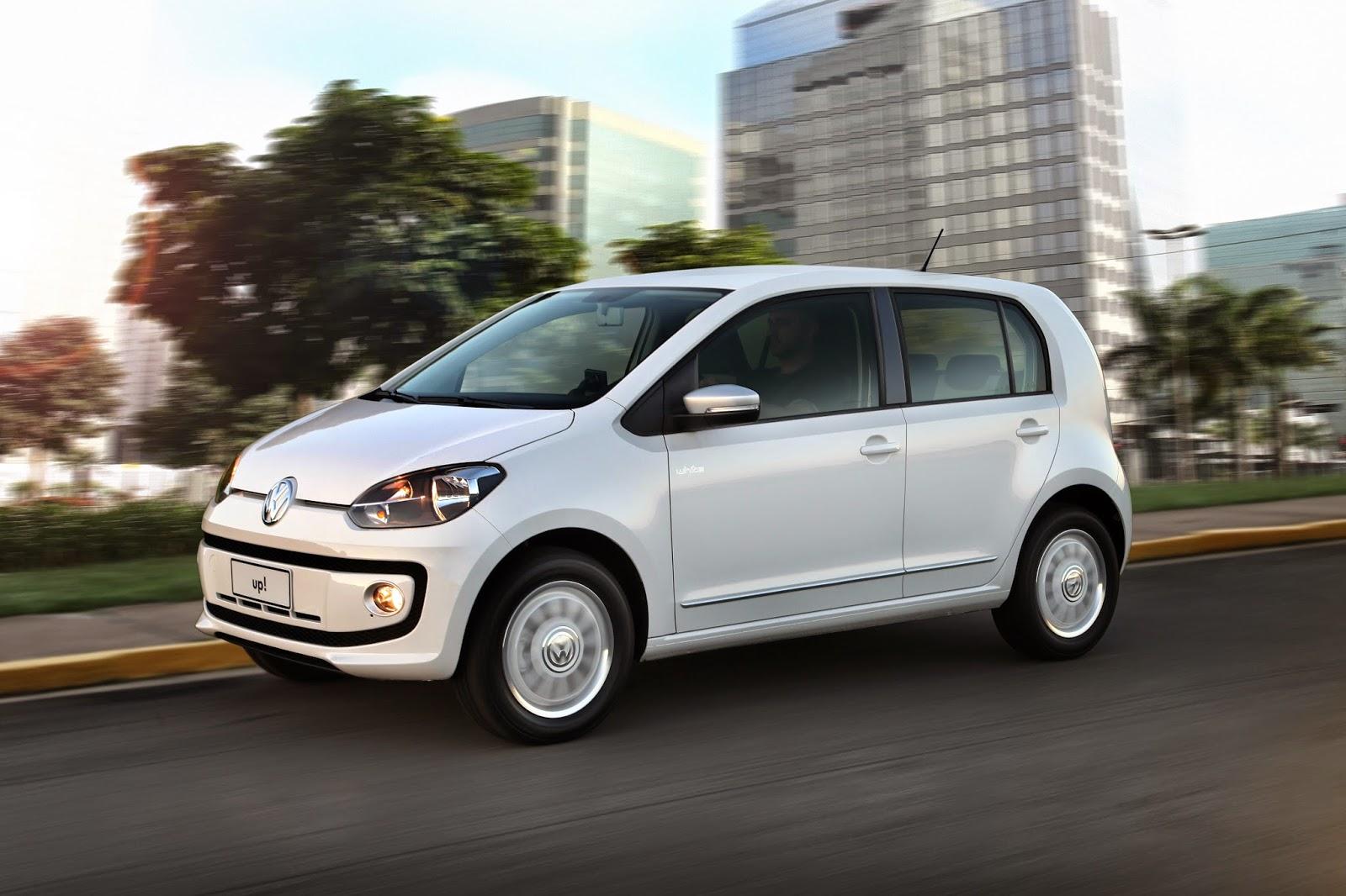 """Volkswagen Up! e Golf são os """"destaques"""" de 2014 eleitos pelos clientes da Quatro Rodas"""