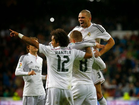 Real Madrid Pesta Gol Ke Gawang Rayo Vallecano 5-1