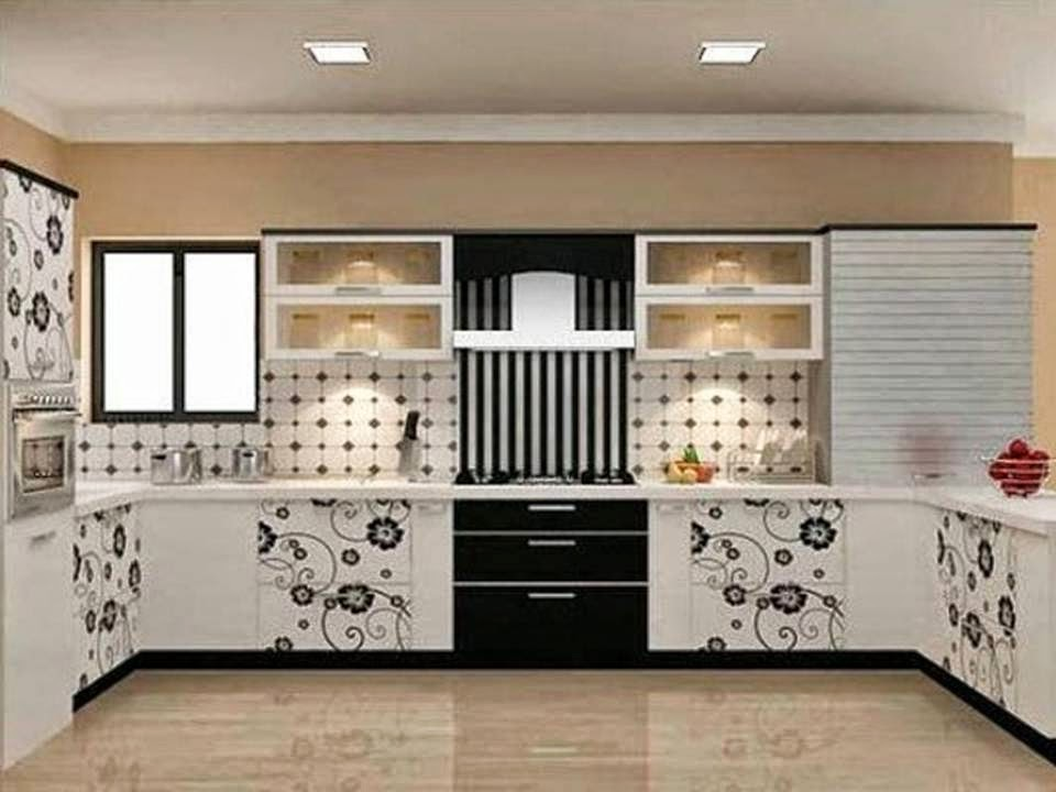 Home decor stunning kitchen cabinets with beautiful flowers - Decals for kitchen cabinets ...