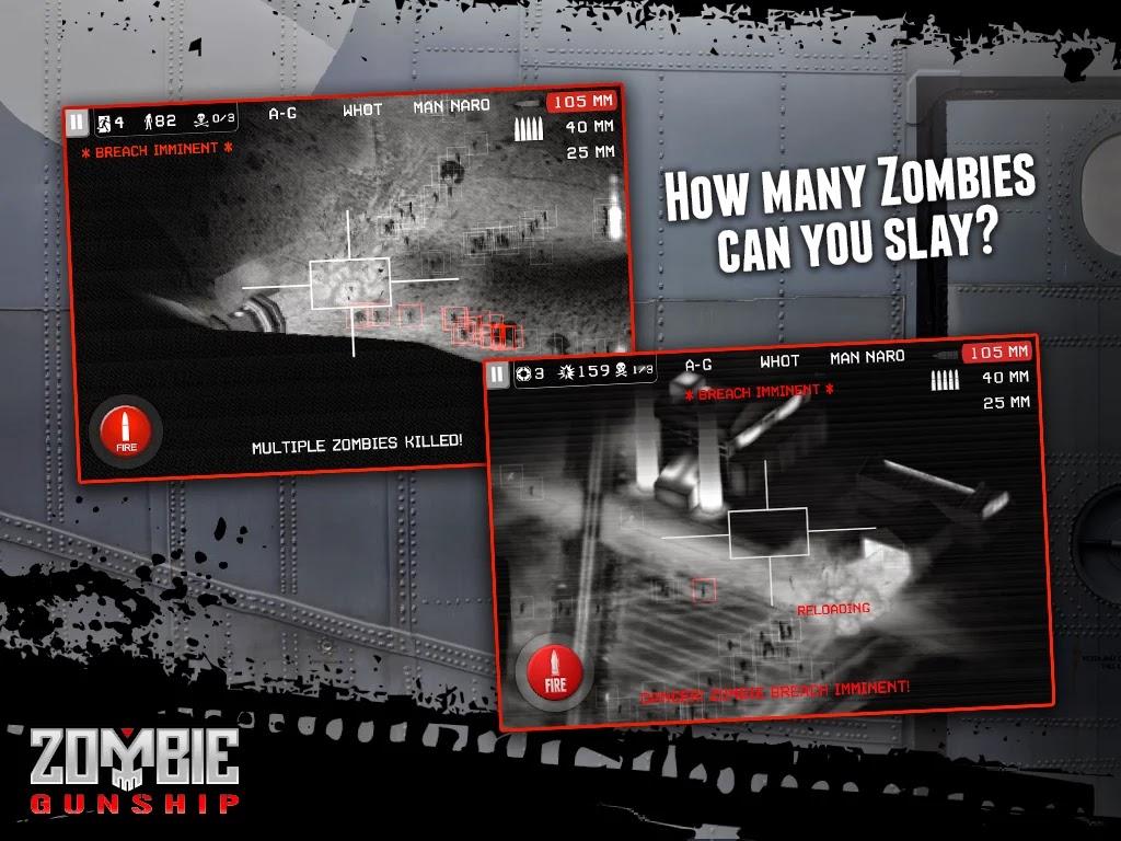 Zombie Gunship: Gun Dead 3D v1.14.2