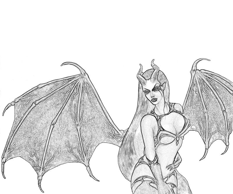 Akasha Queen Profil Coloring Pages title=