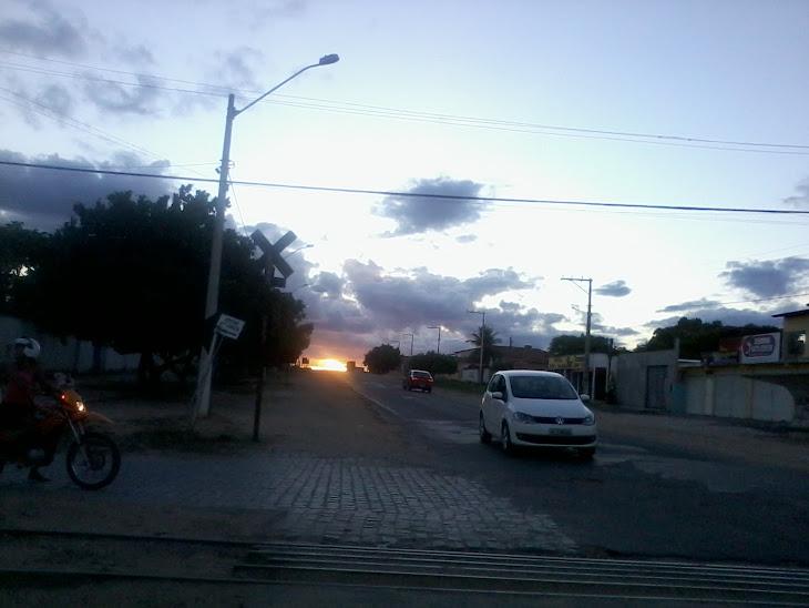 FOTO DO DIA:Final de tarde na cidade de  Serrinha