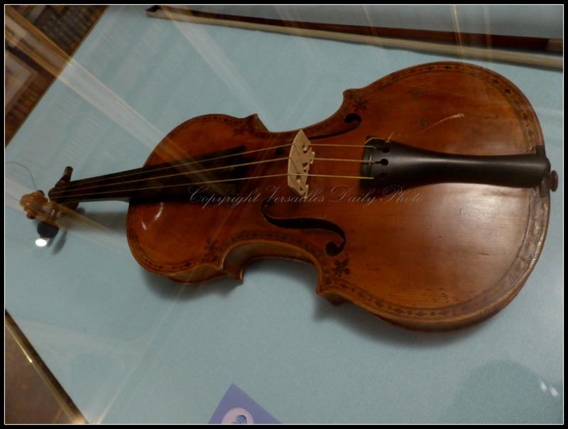Nicolo Gagliano violon Madame Adélaïde