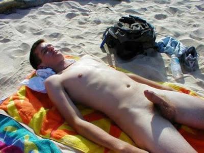 nude beach comics