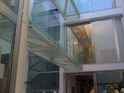 Gli uffici privati dello store. (foto mare )