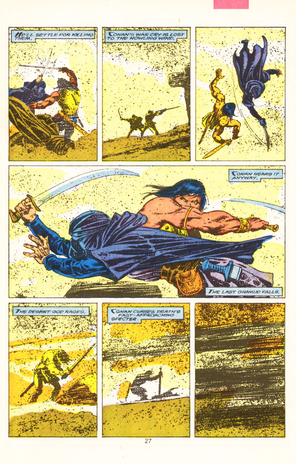 Conan the Barbarian (1970) Issue #211 #223 - English 21
