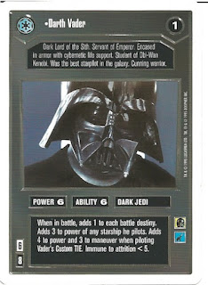 Star Wars CCG Darth Vader