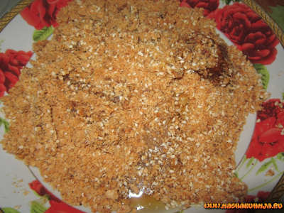 Арахисовая халва с кунжутом и финиками