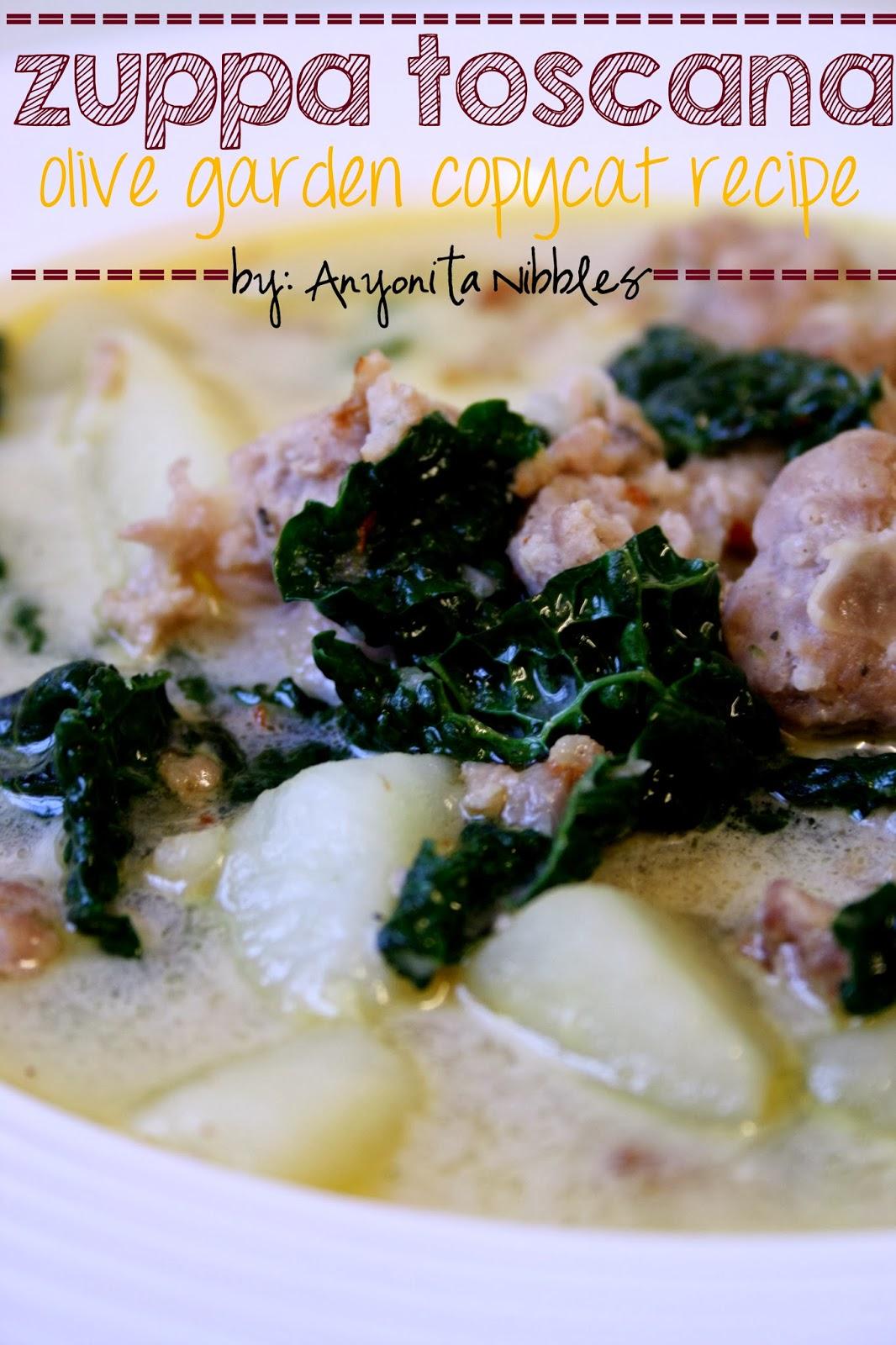 Anyonita Nibbles Gluten Free Recipes Gluten Free Zuppa Toscana Olive Garden Copycat Recipe