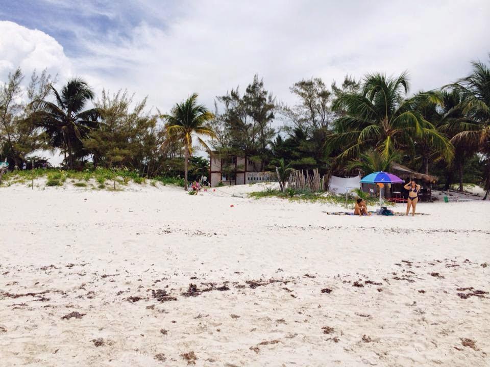 Praia praticamente virgem na Riviera Maya