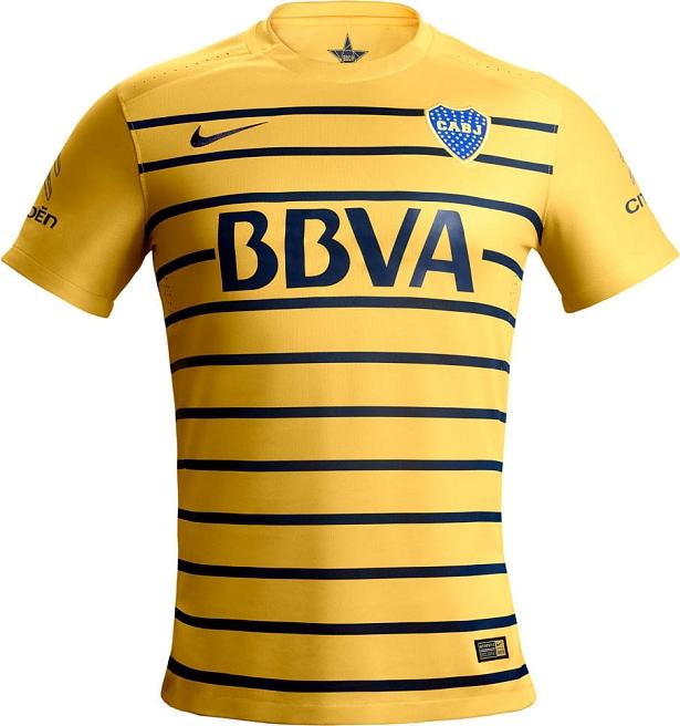 Nike divulga camisa reserva do Boca Juniors - Show de Camisas 32056d072b169