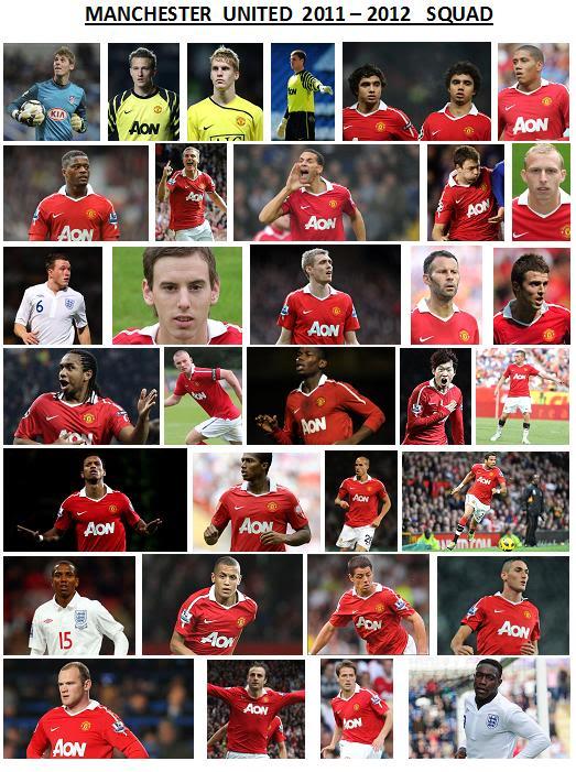 manchester united team list Photo