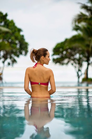 Inessa Kraft actress model lifestyle resort photography