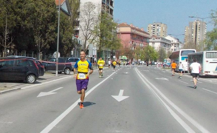 Semimaraton Novi Sad 2014. Florin Chindea