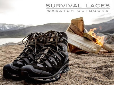 wearable tools for EDC, camping, hiking, survival, outdoors - Survival Laces