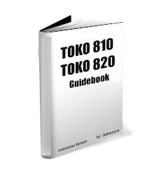 Jual Buku Panduan / Guidebook Toko 810 - 820