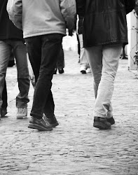 in love with walking ..