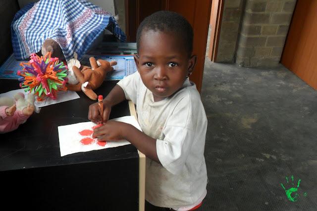 I bambini della Missione in Africa