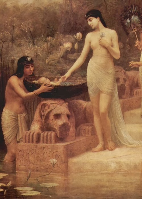 Moses and pharaoh s daughter with you